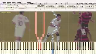 Полёт шмеля - Н.А. Римский-Корсаков (Ноты и Видеоурок для фортепиано) (piano cover)