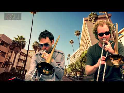 Uptown Funk on Trombone - Bruno Mars Cover - Trombone Duo