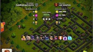 Clash of Clans- High level Raids 3700+ TEAM NL 100% Series cor maater VS SamRomantixLife GoWiPe