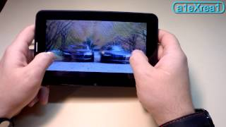 Cамый дешевый китайский планшет c 3G и GPS обзор на русском review Cheapest tablet