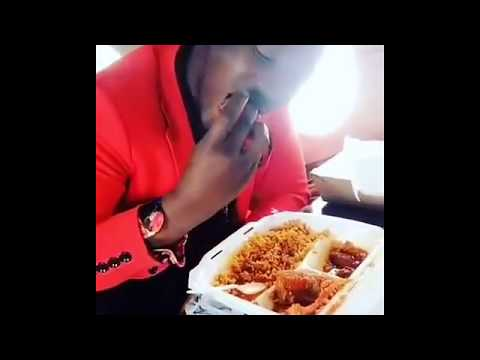 Dammy Krane arrested eating delicious meal