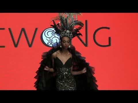 Traci Lynn Cowan at LA Fashion Week with Sue Wong, Dustin Quick, Claudia Charriez  Part  2