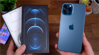Apple iPhone 12 Pro Max Unboxing!