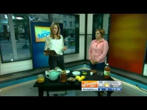 Heather Billingsley on the Morning  sharing natural remedies