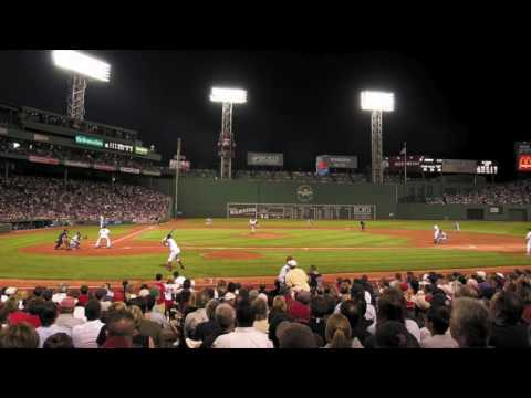 The New Pornographers Whiteout Conditions on Fenway Park organ at Red Sox game 42617