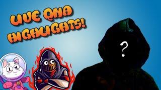 So I Did a Q&A...