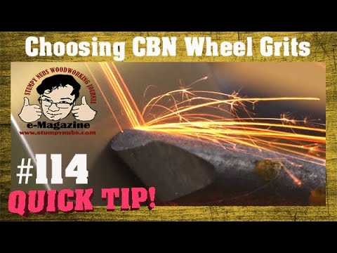 Don't buy CBN grinding/sharpening wheels before you watch this!