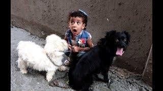 فاجات مريم واشتريت ليها كلب شوفو رد فعلها !!