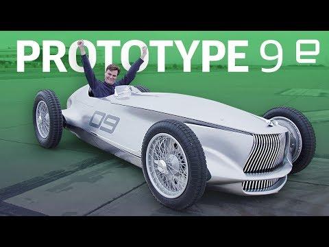 Infiniti Prototype 9 concept EV first look
