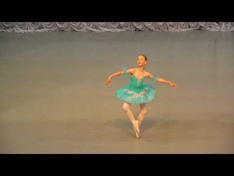 """Вариация из балета """"Тщетная Предосторожность"""". Страздынь Дарья"""