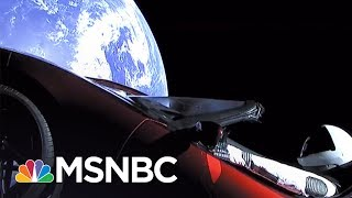 SpaceX Launches Tesla Sports Car Into Sun's Orbit | All In | MSNBC