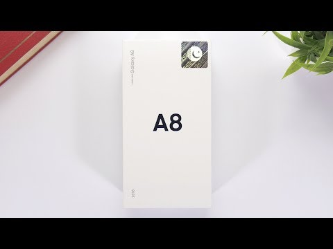 Samsung Galaxy A8 2018 Unboxing and First Look | Pakistan [Urdu/Hindi]