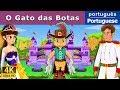 O Gato de Botas - Contos de Fadas - Histórias de Embalar para crianças - 4K UHD