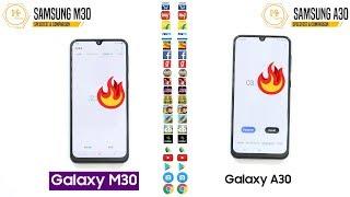 Samsung Galaxy M30 VS Galaxy A30 Speedtest & Comparison!