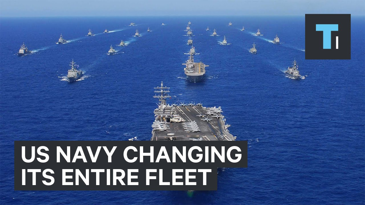 US Navy changing its entire fleet - YouTube