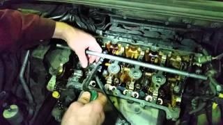 Peugeot 308, замена маслосъемных колпачков.  техцентр PEUGEOT-MOSCOW.COM
