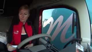 Trucking Girl - Przeprawa promowa Gluckstadt - Wischhafen, Ferry crossing ep. 46