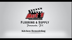 Act 1 Flooring Kitchen Remodel Pensacola FL