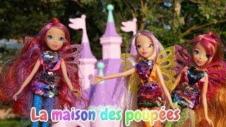 Vidéo en français pour enfants. Les poupées Winx : des bulles
