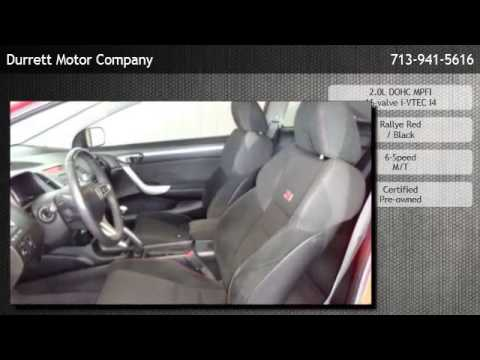2009 Honda Civic Si Manual Coupe - Rosharon