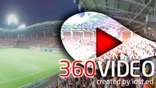 Football Video In 360  VR Football  Борисов Батэ   Венгерский Дебреценом в 360º
