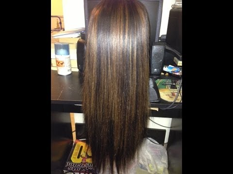 How I Highlight Extensions Ft Queen Weave Ltd Brazilian