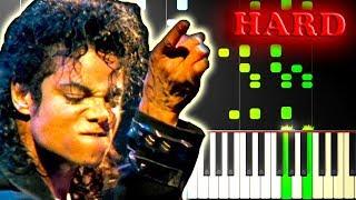 MICHAEL JACKSON - SMOOTH CRIMINAL - Piano Tutorial