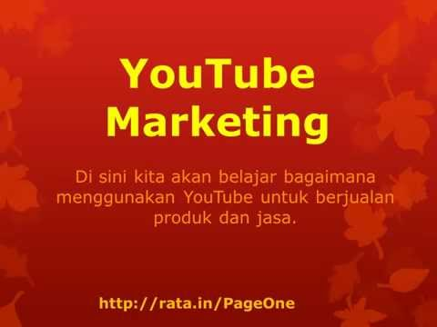 Belajar Promosi Online ala Shembah | YouTube Bisnis Online | YouTube Internet Marketing