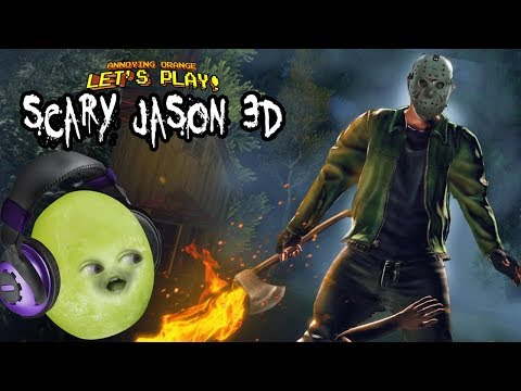 SCARY JASON 3D!!! (Escape The Masked Killer: Friday The 13th Game)