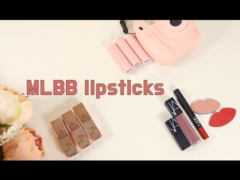 MLBB Lipsticks! Etude House vs 3CE vs NARS l Cinchi