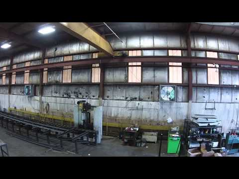B&R Construction, Inc barge building facility tour. video done by new drone.