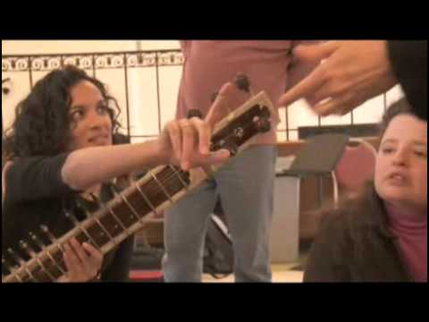 Anoushka explains the Sitar