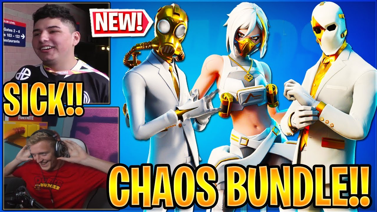 Streamers React to the *NEW* DOUBLE AGENT Bundle in Fortnite