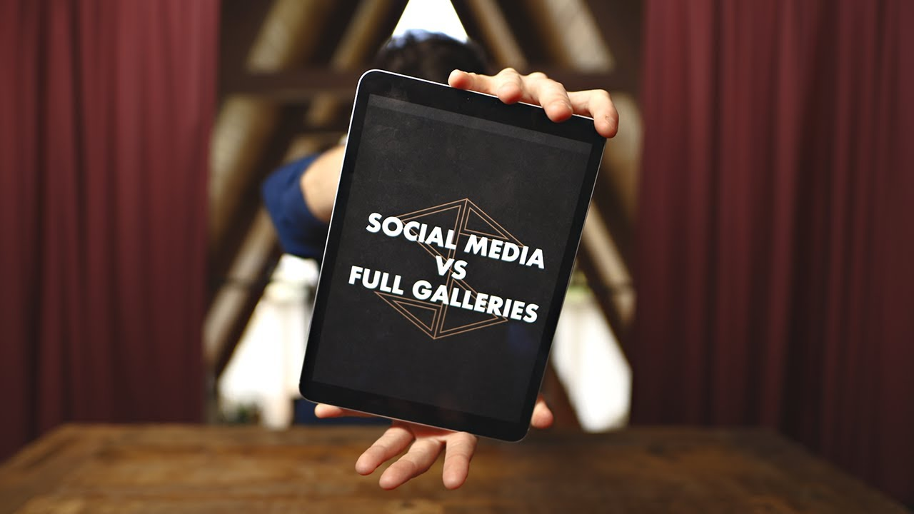 Social Media VS Client Galleries