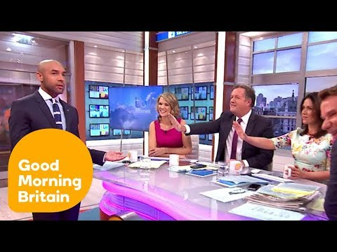 Piers Morgan Gets Interrupted by Alex Beresford On-Air! | Good Morning Britain