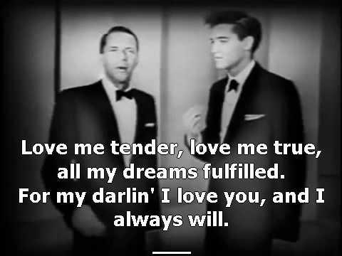 Love Me Tender / Witchcraft - Frank Sinatra and Elvis Presley