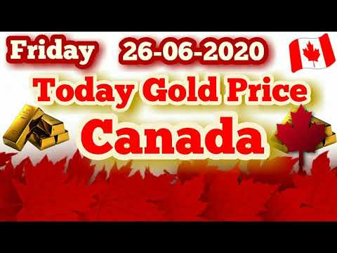 Today Gold Price In Canada || 26 June 2020 || Gold Rates || Haseeb TV || Canada ||