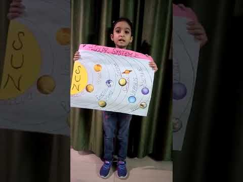 SIDDHI..  Show & Tell Competition..  Solar System