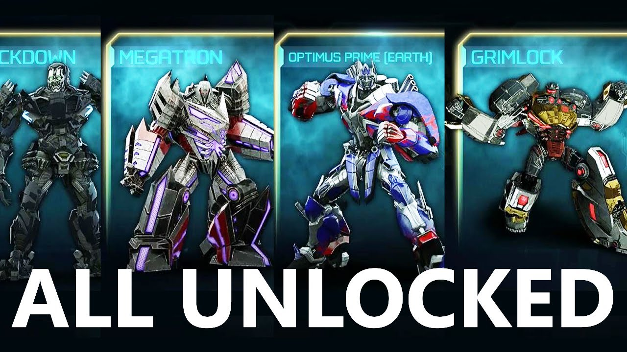 Transformers Rise of the Dark Spark  ALL AutobotsDecepticons
