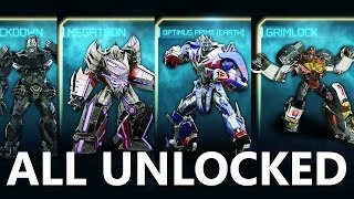 Transformers: Rise of the Dark Spark - ALL Autobots/Decepticons + DLC UNLOCKED [FULL]