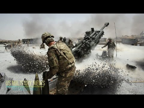 This is the Huge M777 Howitzer That US Marines Burned Out While Fighting Terrorist