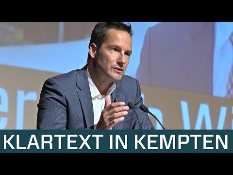 Thorsten Schulte redet Klartext in Kempten. Rechtsbrüche Merkels. Islam. Kontrollverlust.