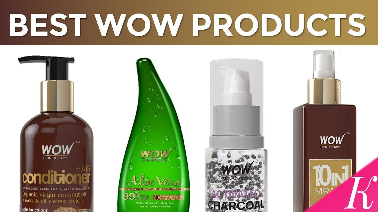 7 Best WOW Products in India with Price | No Sulphates, No Parabens ...