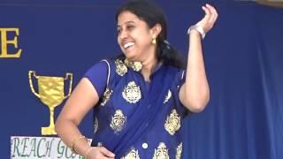 Na vasantham Niku Sontham Dance By Teachers    Children's Day at St Pious   