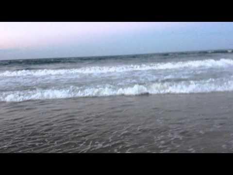 Atlantic Ocean Beach Sunset.