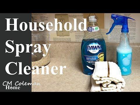 Vinegar Dishsoap Household Spray Cleaner