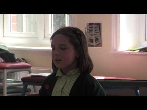 Fiona singing Danny Boy