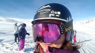 Горные лыжи, обучение. Валь дИзер,Франция. Скифактор.
