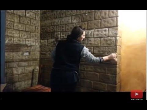 Parete Decorativa In Polistirolo Youtube