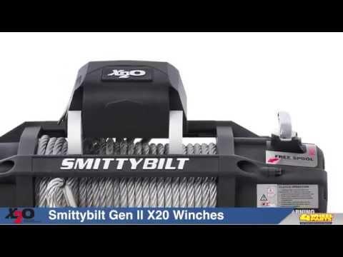 Smittybilt X20 Gen2 Waterproof Winches